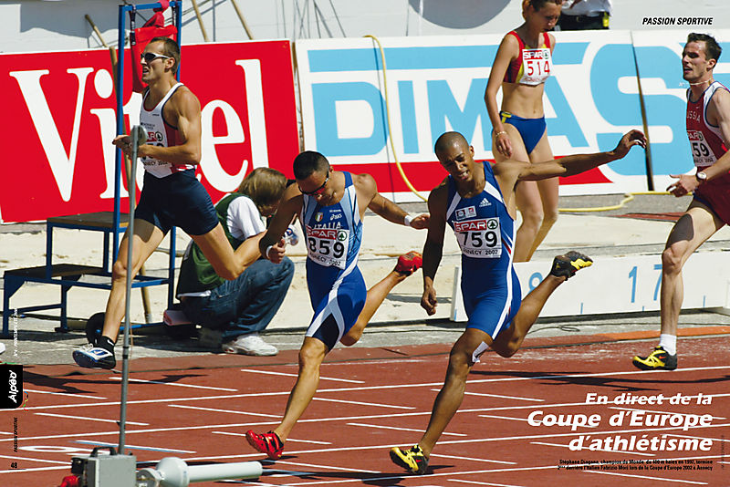 ALPEO 4 Athletisme Coupe Europe Annecy 2008