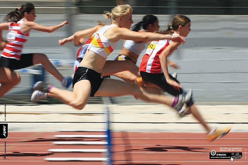 ALPEO 4 Athletisme Annecy 2008