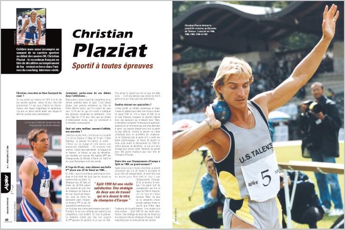 ALPEO 4 Interview Christian Plaziat