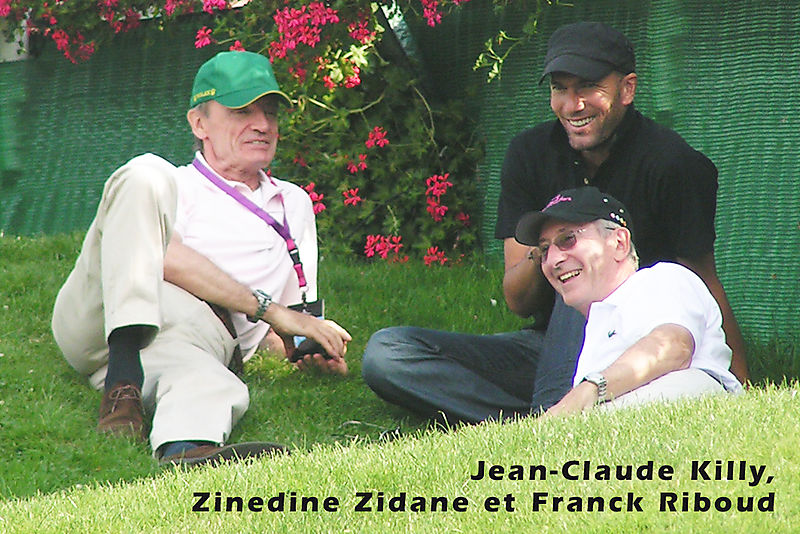Killy Zidane et Riboud