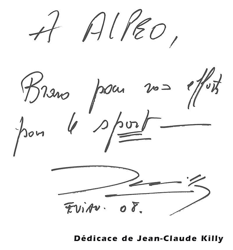 Dedicace JC Killy web