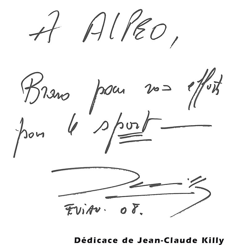 Dedicace JC Killy web