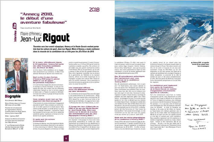 2018. Jean-Luc Rigaut