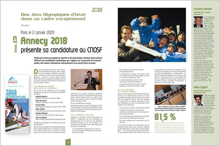 Annecy 2018 au CNOSF