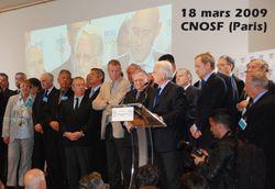 CNOSF Paris 18 mars