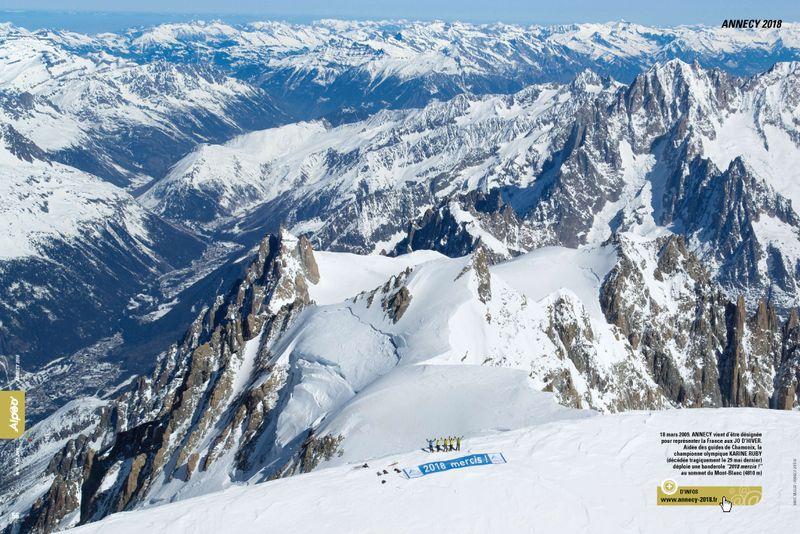 ALPEO N6 Annecy 2018 Mont Blanc