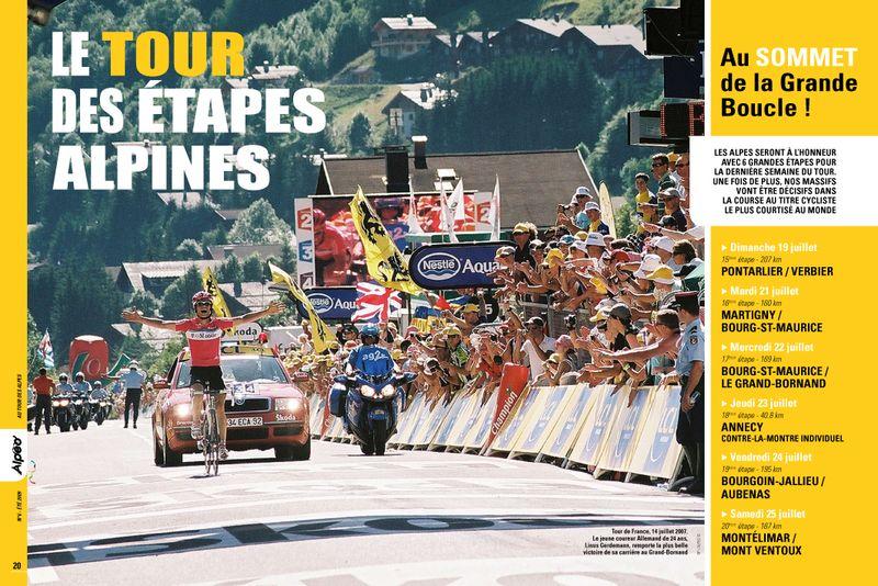 ALPEO N6 Tour des etapes alpines