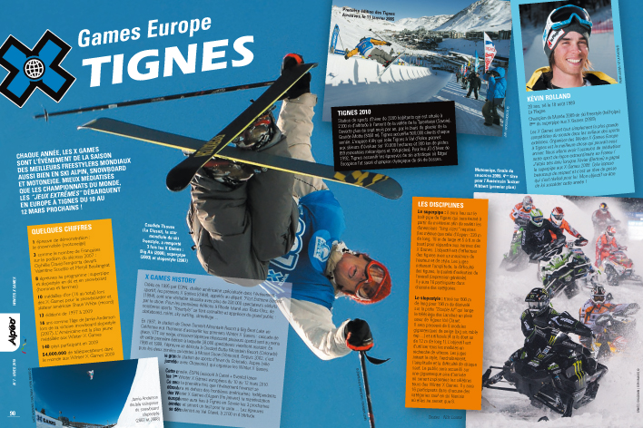 ALPEO 7 Article X Games Europe Tignes 2010