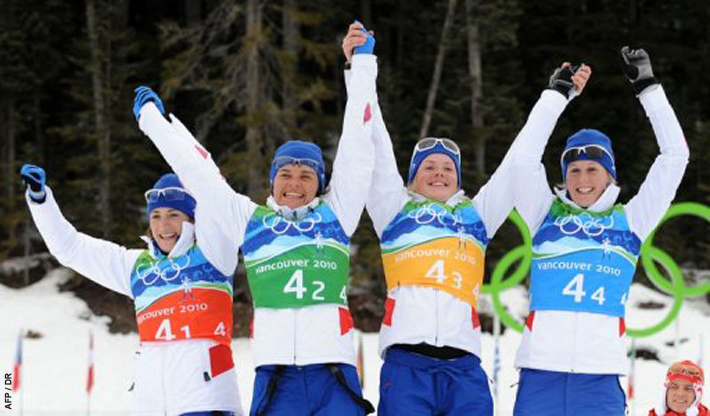 Relais fille biathlon