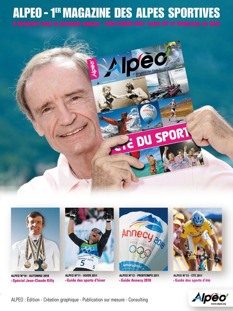 ALPEO affiche Jean Claude Killy