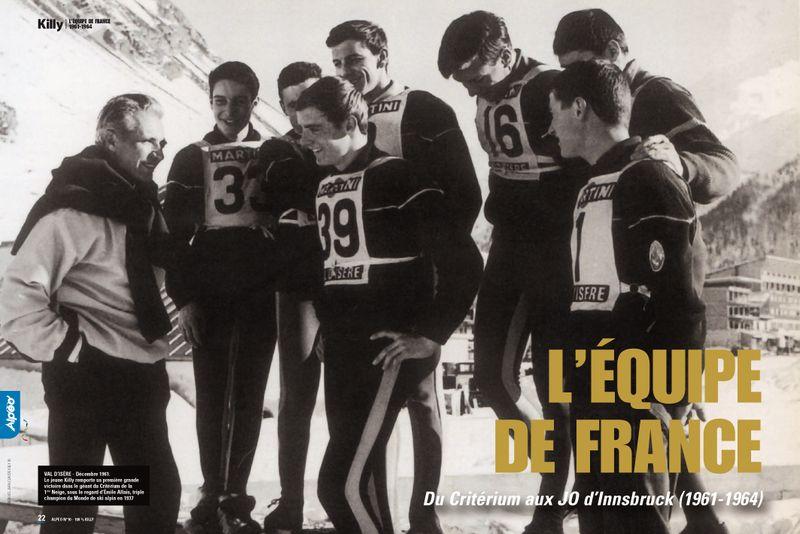 Killy Equipe de France 1961 1964