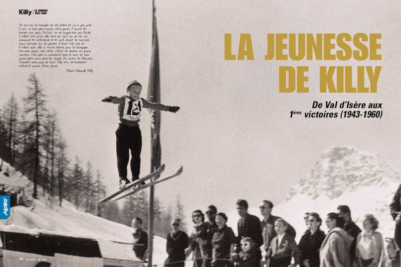 Jeunesse de Killy 1943 1960