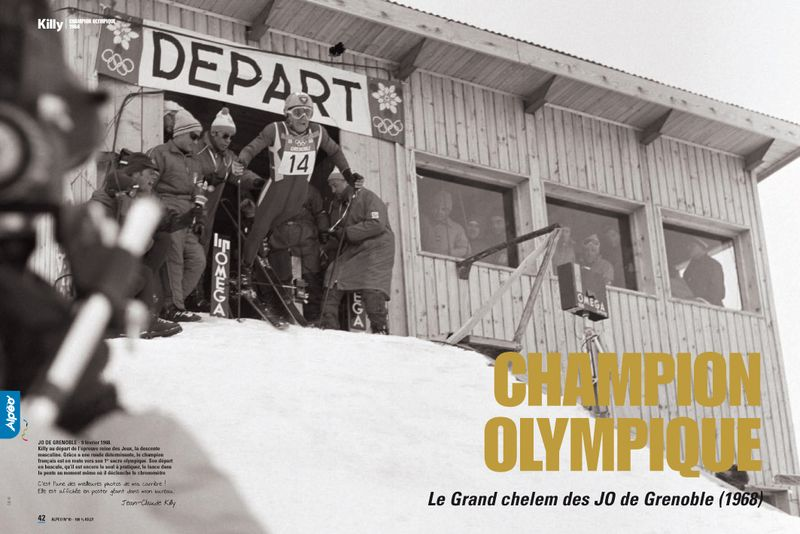 Killy champion olympique 1968