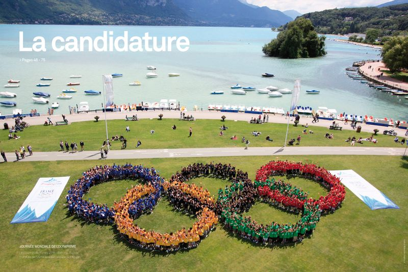 ALPEO Guide officiel Annecy 2018 la candidature