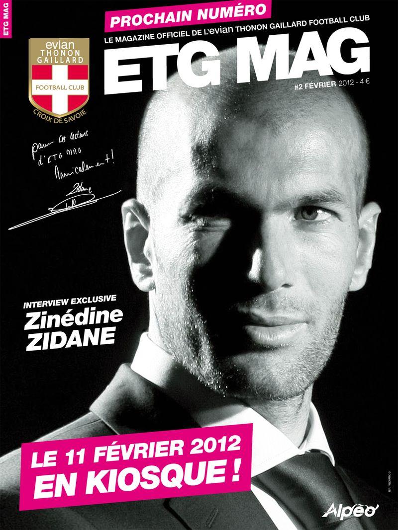 ETG MAG 2 Affiche Zidane