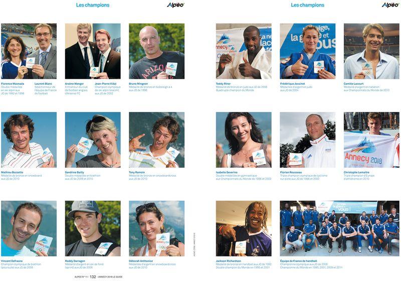 ALPEO Guide officiel Annecy 2018 les champions