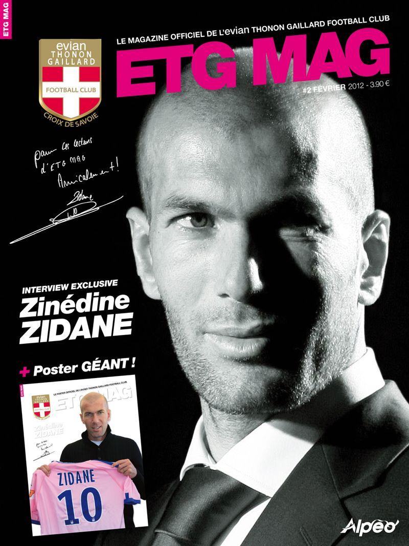 ETG MAG Zidane couverture