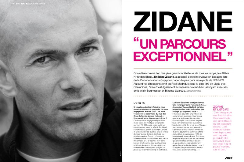 ETG MAG 2 Zidane interview