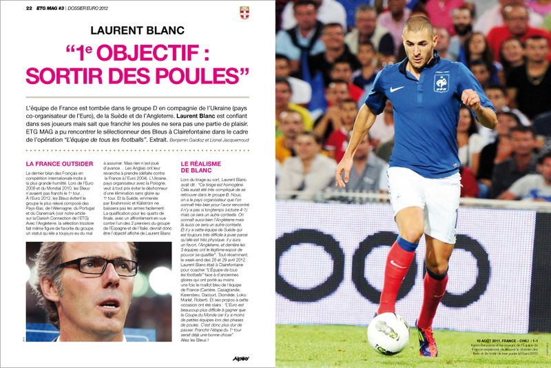 ETG MAG 3 Laurent Blanc