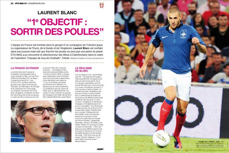 ETG MAG 3 Laurent Blanc