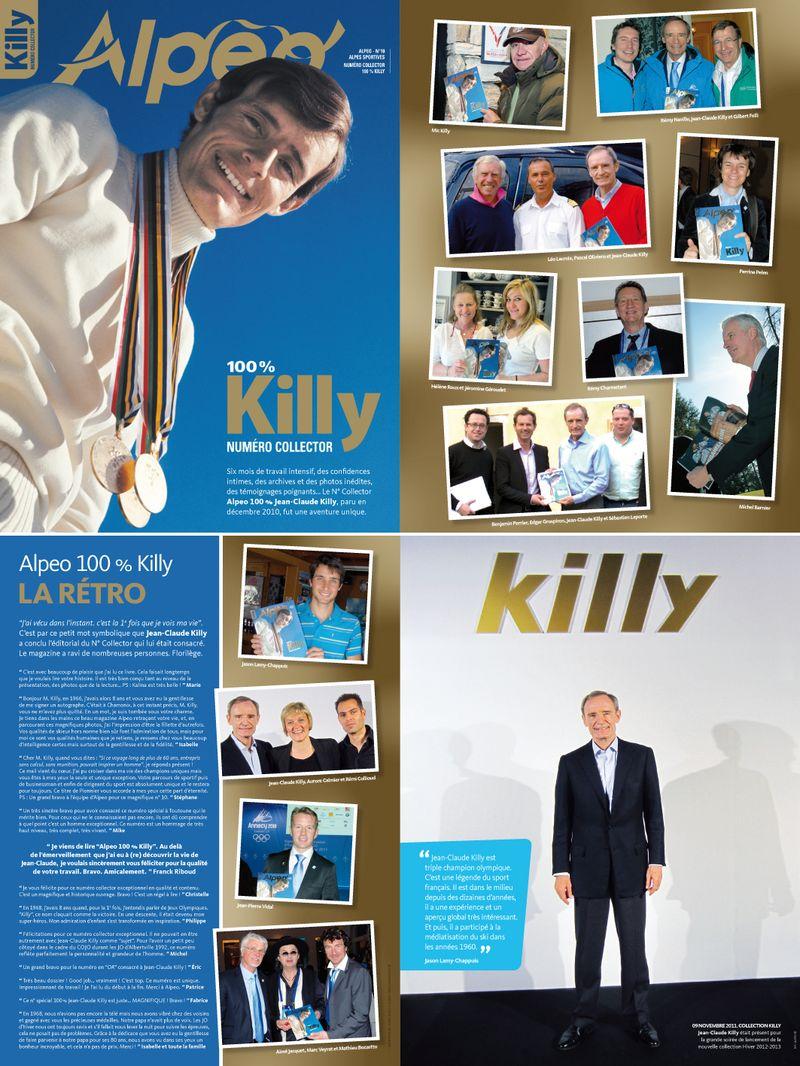 ALPEO N12 GSH 2012 Retour Killy collector
