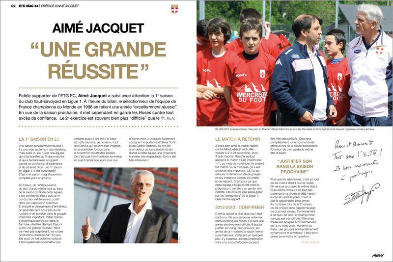 ETG MAG 4 Preface Aime Jacquet