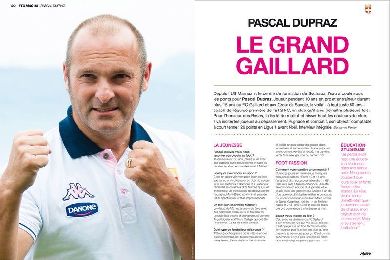 ETG MAG N5 Pascal Dupraz