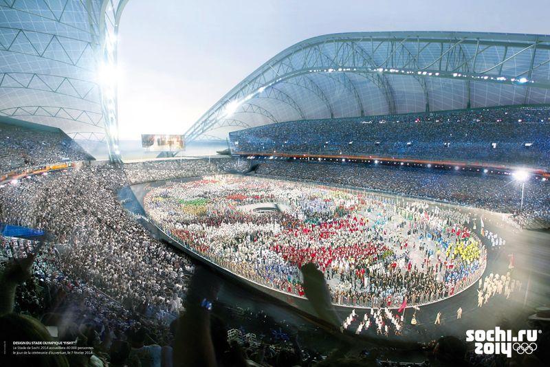 ALPEO Guide Sochi 2014 Stade olympique