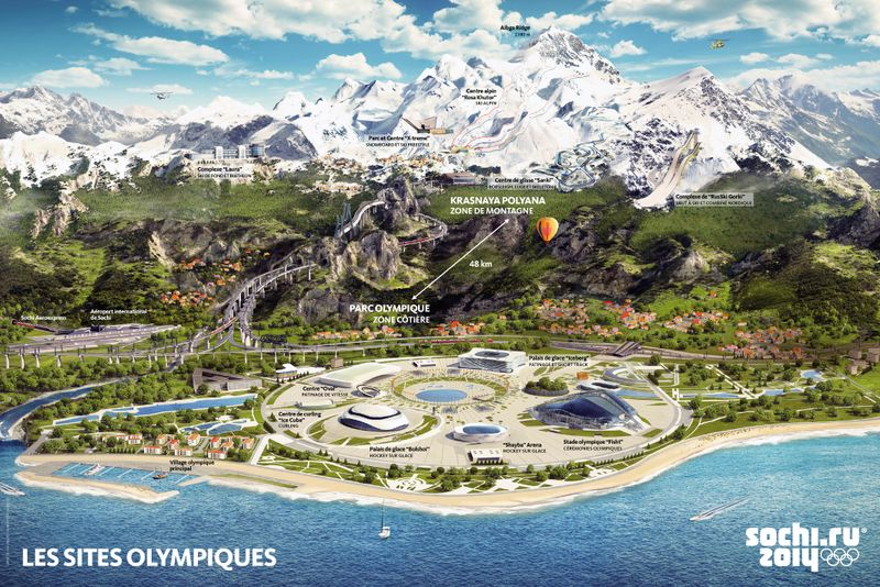 ALPEO Guide Sochi 2014 Sites olympiques