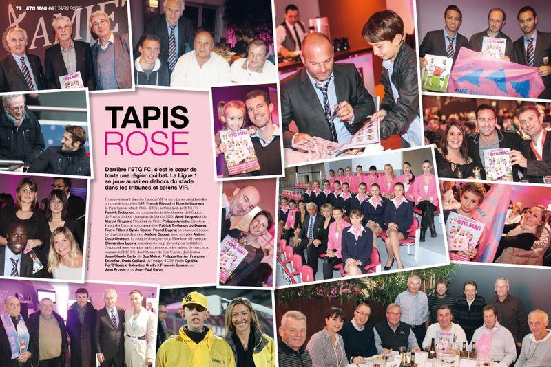 ETG MAG N6 CAN 2013 Tapis Rose
