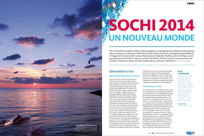 ALPEO Guide Sochi 2014 JC Killy