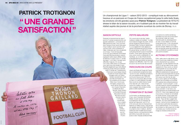 ETG MAG 8 Patrick Trotignon