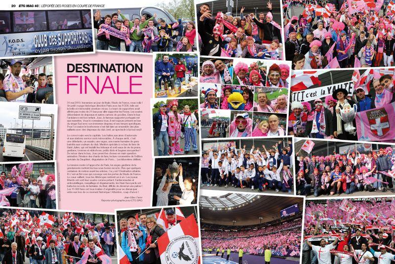ETG MAG 8 Coupe de France Destination finale