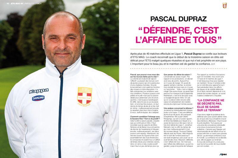 ETG MAG 9 ALPEO ITW Pascal Dupraz