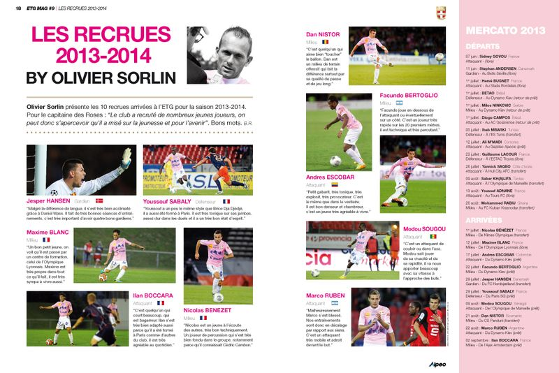ETG MAG 9 ALPEO Recrues by Sorlin