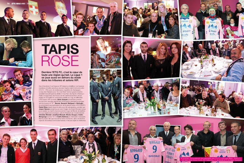 ETG MAG 10 ALPEO Tapis Rose