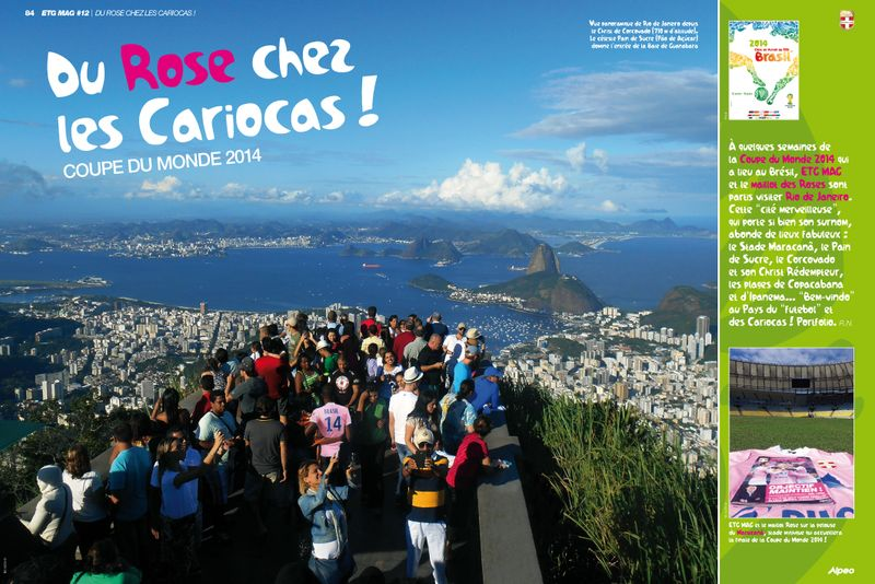 ETG MAG 12 ALPEO Du Rose chez les Cariocas 1