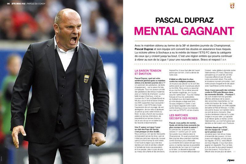ETG MAG 12 ALPEO Pascal Dupraz