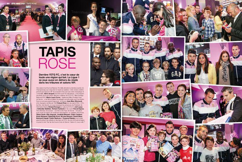 ETG MAG 12 ALPEO Tapis Rose