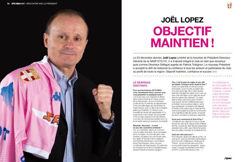 ETG MAG 11 ALPEO Lopez Titre
