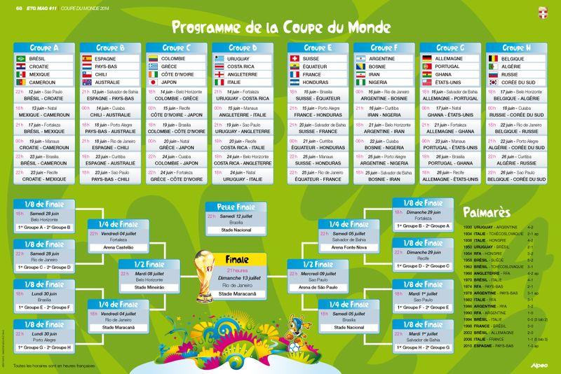 ETG MAG 11 ALPEO Programme Coupe Monde 2014