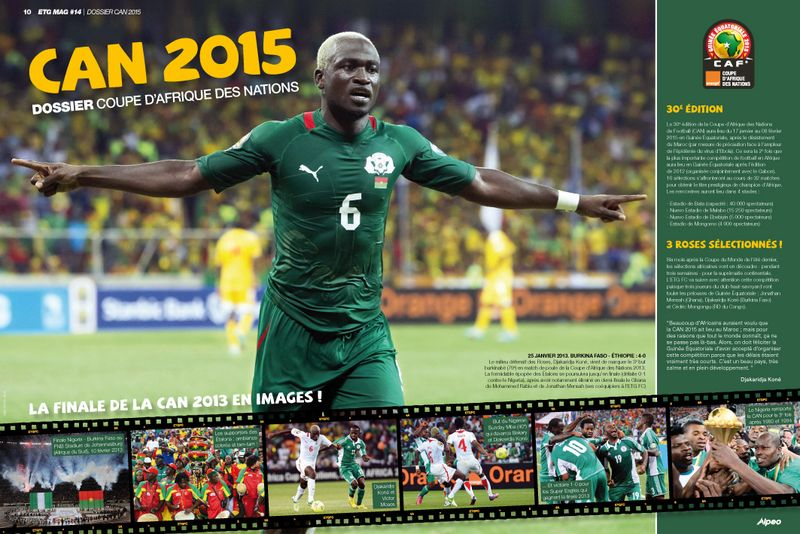 ETG MAG 14 CAN 2015 Dossier CAN 2015 ALPEO web